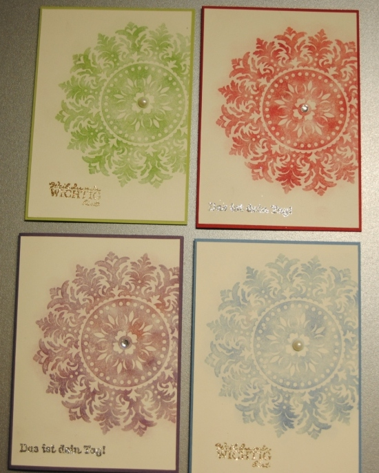 Stampin' Up! Medallion