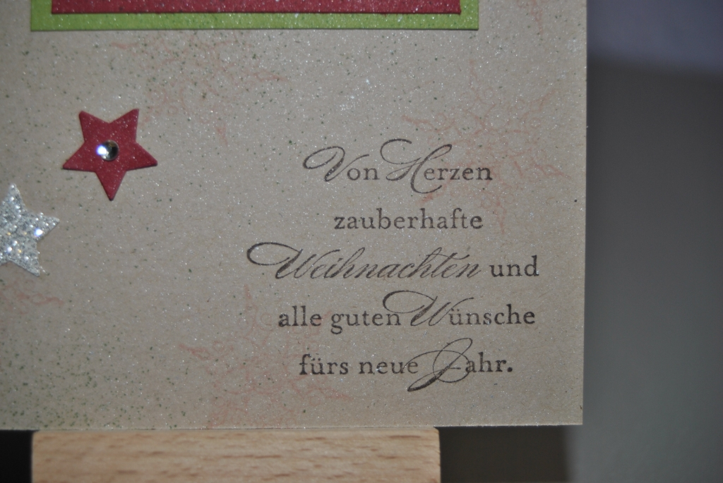 wunderbare weihnachtsgr e stamp 39 n ink