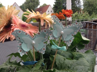 Blumenstecker Zauberhafter Schmetterling Stampin' Up!