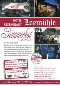Flyer Loemühle 2013