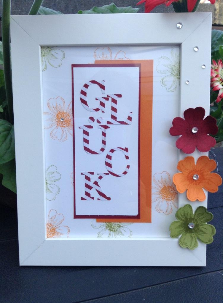 Bilderrahmen Glück (2) | stamp \'n ink