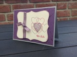 Hochzeitskarte Mit Liebe(1)