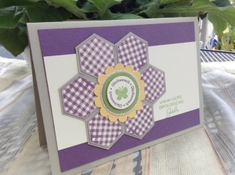 Six Sided Sampler Blumenkarte (1)